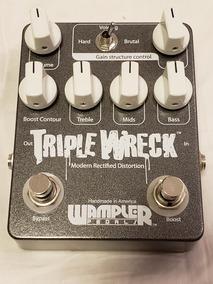 Pedal Distorção Wampler Triple Wreck
