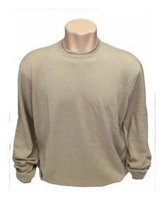 Blusa De Frio Sueter Masculino Italiano Ez 100% Lã B0453