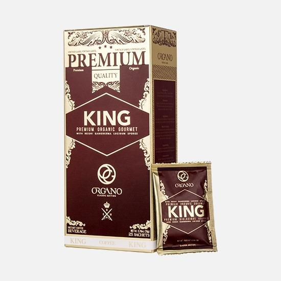 Rey Del Café King Of Coffe Premium Gourmet Esporas Ganoderma