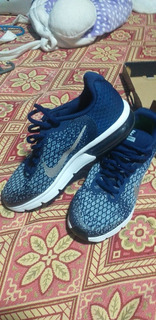 Zapatos Nike Airmax Sequient 2 Talla 8 Color Azul