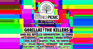 Boletas Festival Estereo Picnic Combo 3 Dias