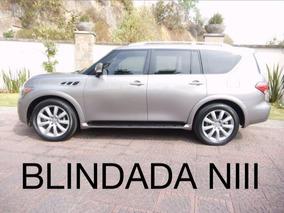 Blindada Infiniti Qx56 V8