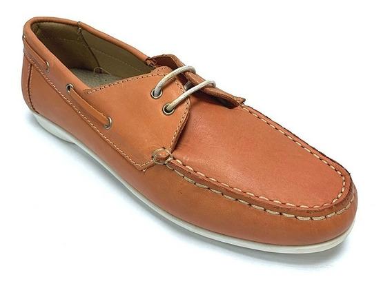 Zapatos Nauticos Full Time Dama Rojo Ft 4415 Corpez 35