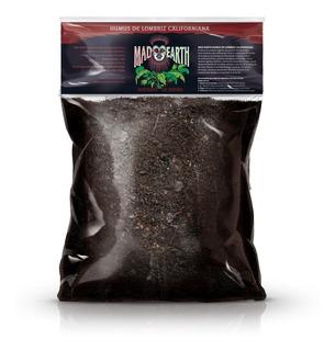 Humus De Lombriz Californiana Mad Earth 5 Litros Cultivo