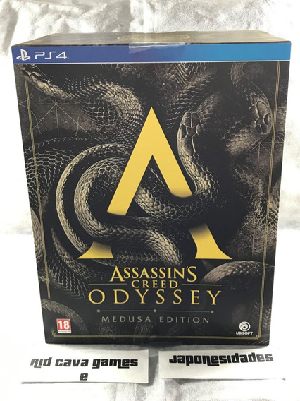 Assassins Creed Odyssey Medusa Edition Ps4
