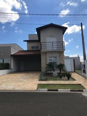 Casa Com 3 Dormitórios À Venda, 191 M² - Condomínio Terras Do Fontanário - Paulínia/sp - Ca1031