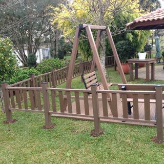 Balanço Para Jardim Madeira Plástica 100% Reciclada