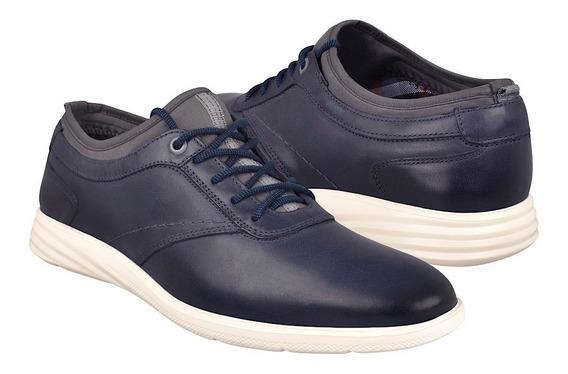 Zapatos Casuales Para Caballero Flexi 95603 Azul