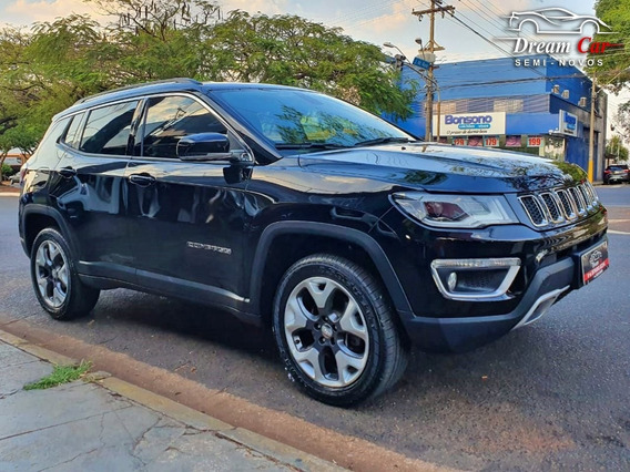 Jeep Compass Limited 2.0 Preto 2018