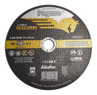 5 Disco De Corte 7 Pulgadas Amoladora 180mm Metal Acero