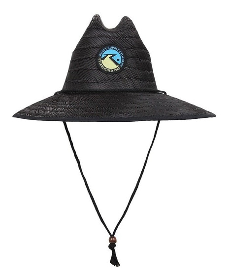 Chapeu De Palha Rusty Lifeguard Black