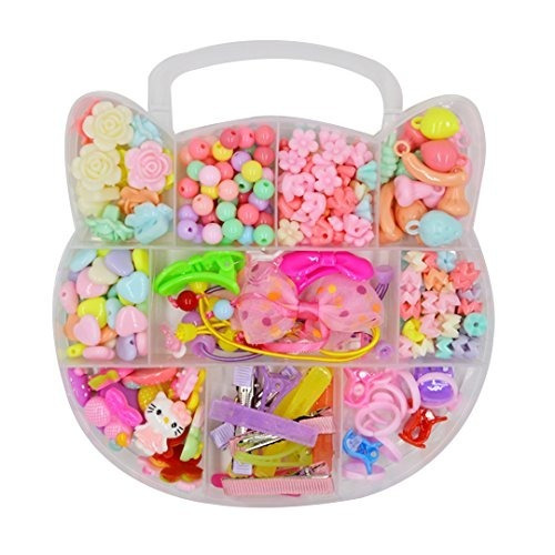 Felice Bead Kit En Kitty Box Con Mango Diy Jewelry Kit Para