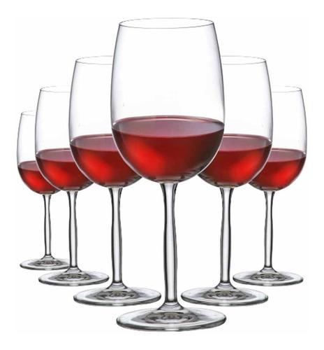 Imagem 1 de 4 de Kit Taças De Vinho Tinto Ritzenhoff Cristal 485ml 6 Pcs