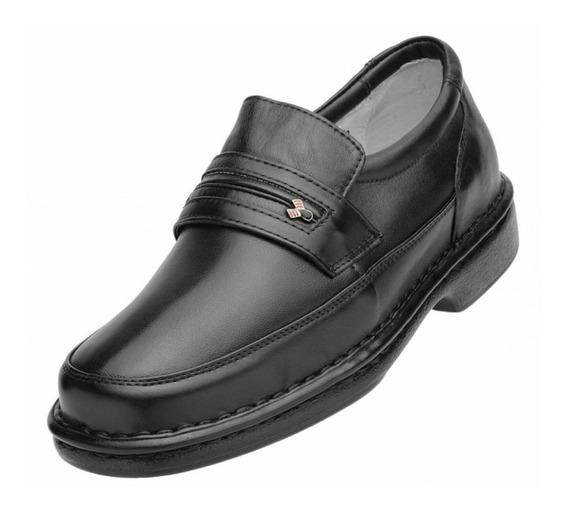 Sapato Couro Alcalay Relax Conforto Ortopedico Esporão 701