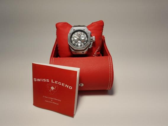 Swiss Legend Trimix Diver Relógio Suíço Original