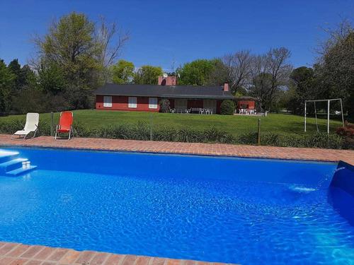 Alquiler Casa Quinta Vivienda Parrilla Pileta Jardin Lujan