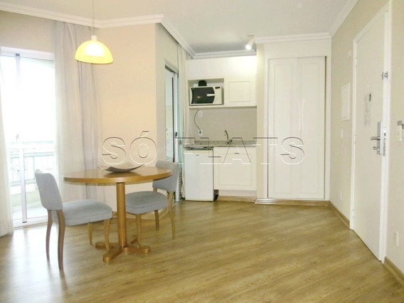 Flat Na Rua Bela Cintra, Para Moradia Ou Investimento - Sf27669