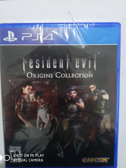 Jogo Resident Evil Origins Collection - Ps4 M. Fisica