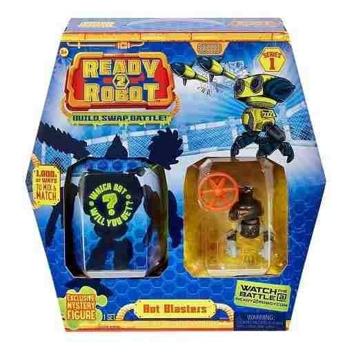 Ready 2- Robot Blasters Com Slime Robô Preto Candide 2201