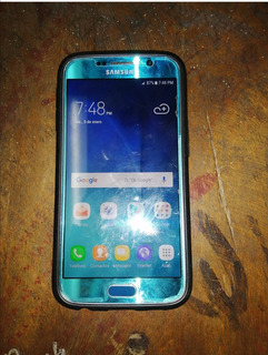 Celular Samsung Galaxy S6 Color Azul