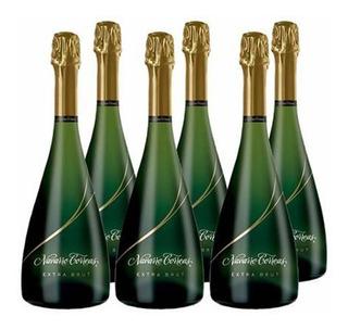 Champagne Navarro Correa Extra Brut X750cc Caja X6