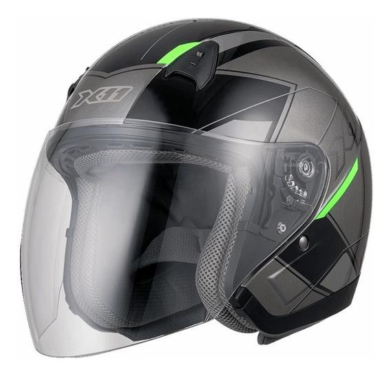 Capacete X11 Freedom Metric Quadriciclo Moto