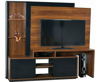 Panel Rack Para Tv Lcd Platinum 55802 + Envió Sin Cargo Caba
