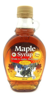 Jarabe De Arce O Maple Syrup - Botella De Vidrio X 250 Ml