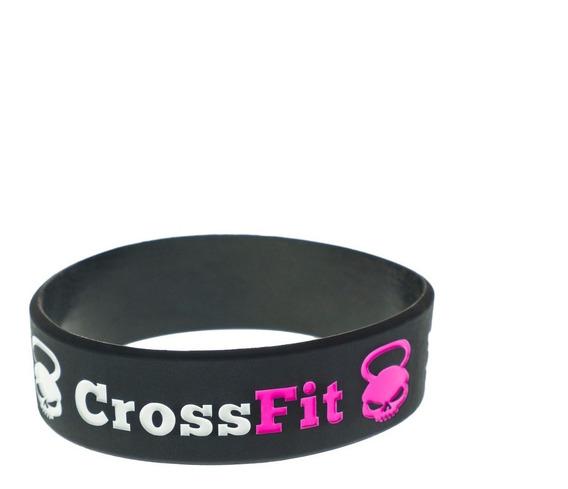 Pulsera Accesorio Fit Crossfit Yoga Pilates Funcional Rosa