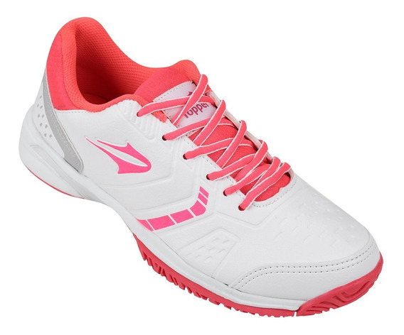 Zapatilla Topper Let 2 Blanco/fucsia Dep