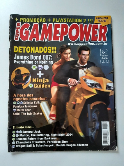 Revista Super Gamepower N:111 James Bond 007.