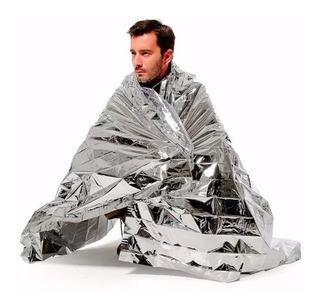 Cobertor Manta Termico Viagem Acampamento Sobrevivência Edc