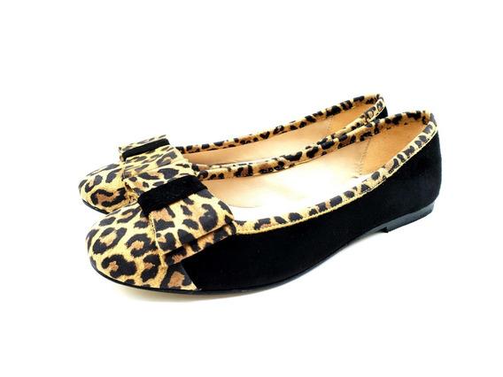 126/os Chatitas Balerinas Mujer Zapato Calzado Moño Puntera