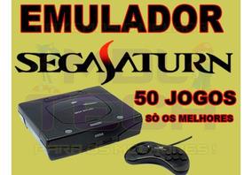 Emulador Sega Saturn + 50 Jogos - Só Os Melhores