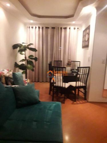 Apartamento Com 2 Dormitórios À Venda, 76 M² Por R$ 297.000,00 - Jardim Dourado - Guarulhos/sp - Ap2817