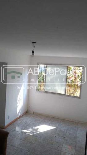 Imagem 1 de 13 de Sulacap - Ótimo Apartamento Térreo, Com 2 Quartos - Abap20595