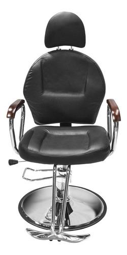 Imagen 1 de 8 de Sillon Barbero  Peluqueria Silla Barberia Estetica Rudo