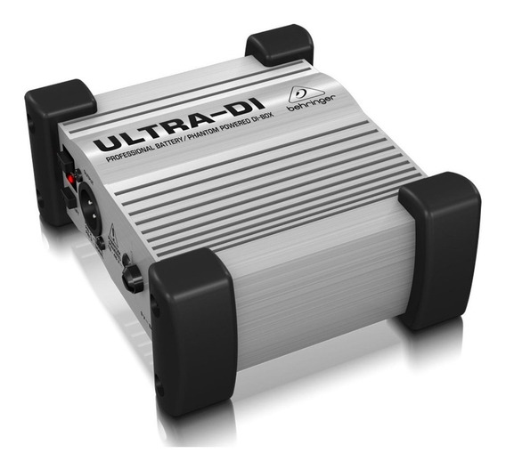 Direct Box Ativo Behringer Di100 Ultra-di