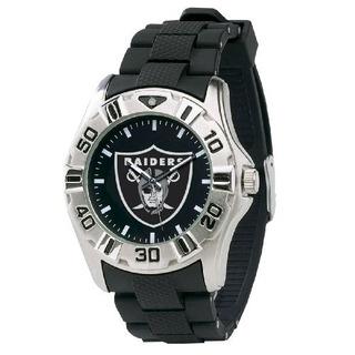 Reloj Nflmvpoak Para Hombres De La Nfl Oakland Raiders Watch
