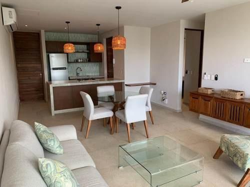 Renta De Hermoso Apartamento Totalmente Amueblado En Aldea Zama - Tulum