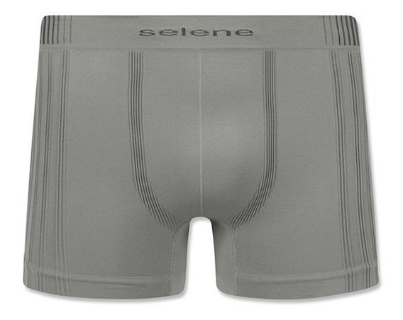Kit Com 5 Cuecas Boxer Microfibra Original Selene Atacado!