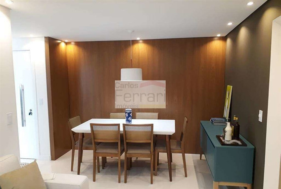 Apartamento Com 2 Suítes, 2 Vagas, Mobiliado E Com Lazer Total - Cf23900