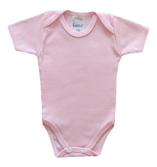 Roupa De Bebê Prematuro Kit Com 3 Body Manga Curta Algodão
