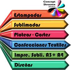 Estampados Sublimados Logos Confecciones Textiles