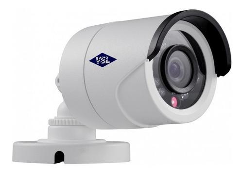 Cámara De Seguridad Exterior Vsl Multiformato 720p