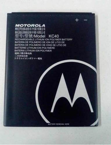 Batería Kc40 Motorola E6 Plus  3000mah