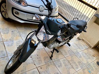 Vendo/ Troco Moto Honda Cg Fan 2014 Esdi 27km