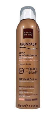Bronzage Autobronceante En Spray X170ml
