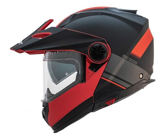 Casco Abatible Shaft Doble Proposito Rider One