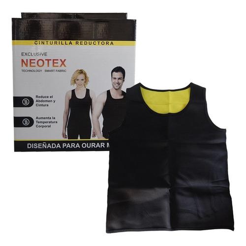 Faja Hombre Neotex Reductor Musculosa Chaleco Entero